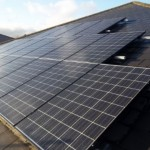 Solar PV system on roof