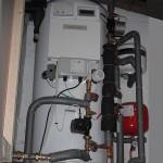 Heat pump cylinder arrangement.