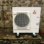 Mitubishi Air Source Heat Pump