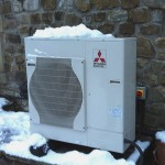 heat pump install by Yorkshire Energy Systems