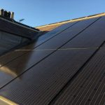 Viridian inroof PV system in Richmond